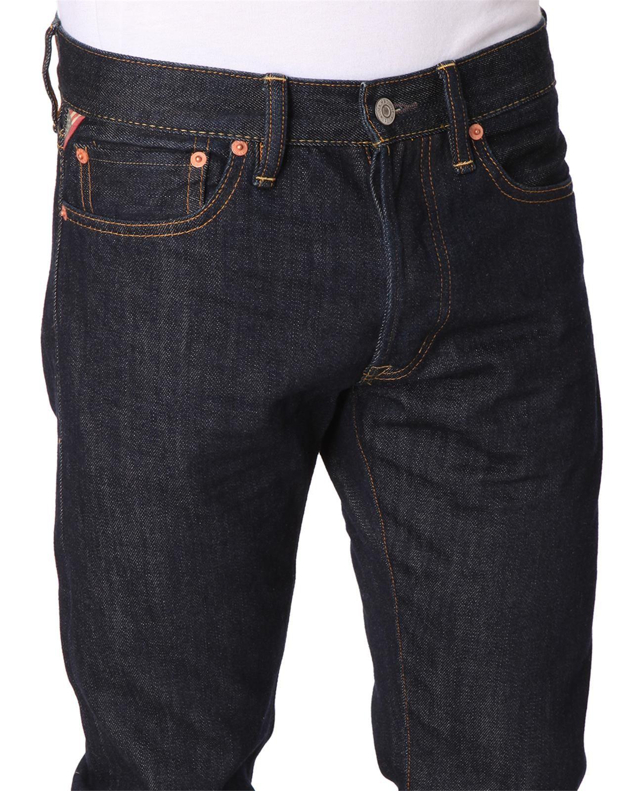 denim supply ralph lauren byron indigo slim fit jeans in. Black Bedroom Furniture Sets. Home Design Ideas