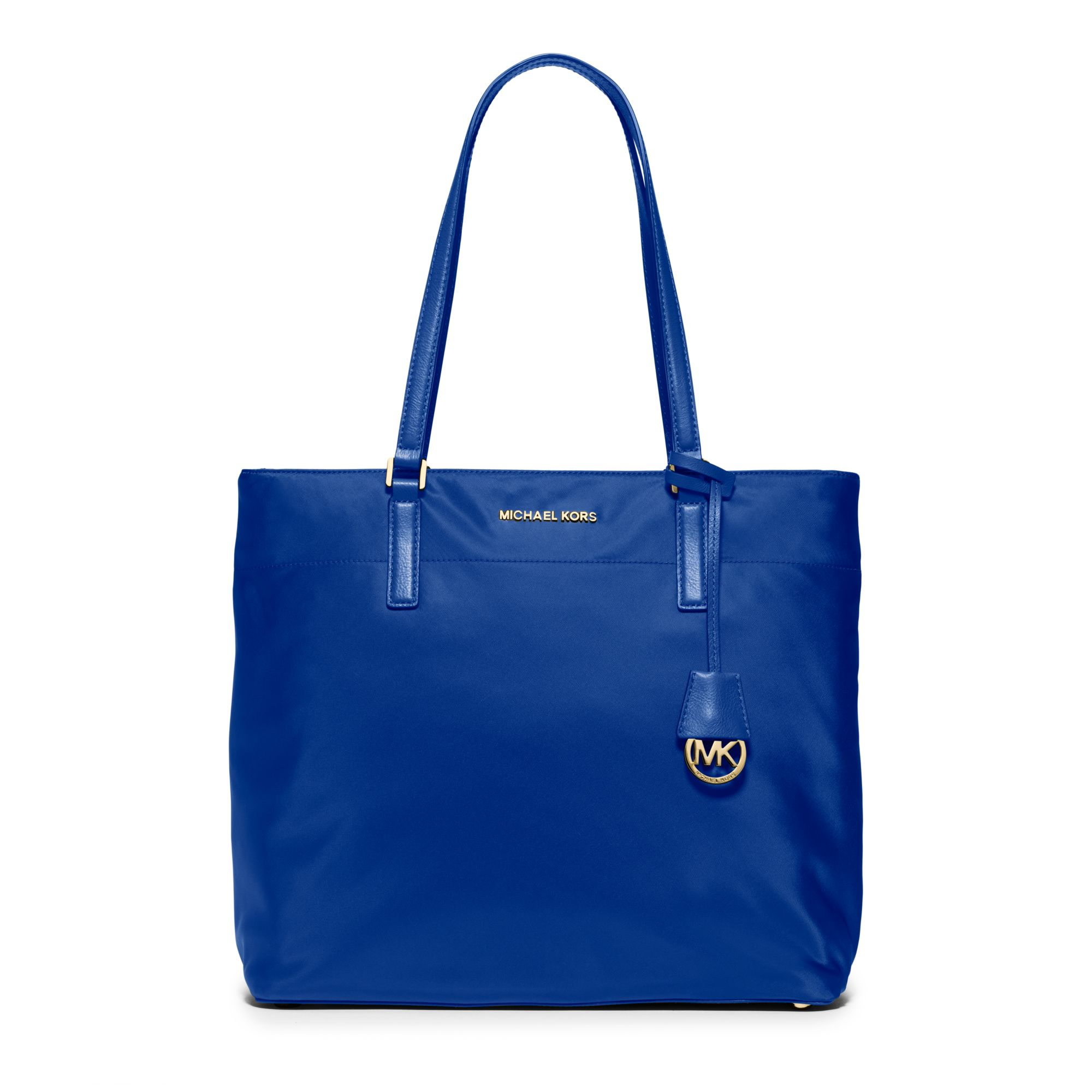 Michael kors Morgan Large Nylon Tote in Blue | Lyst