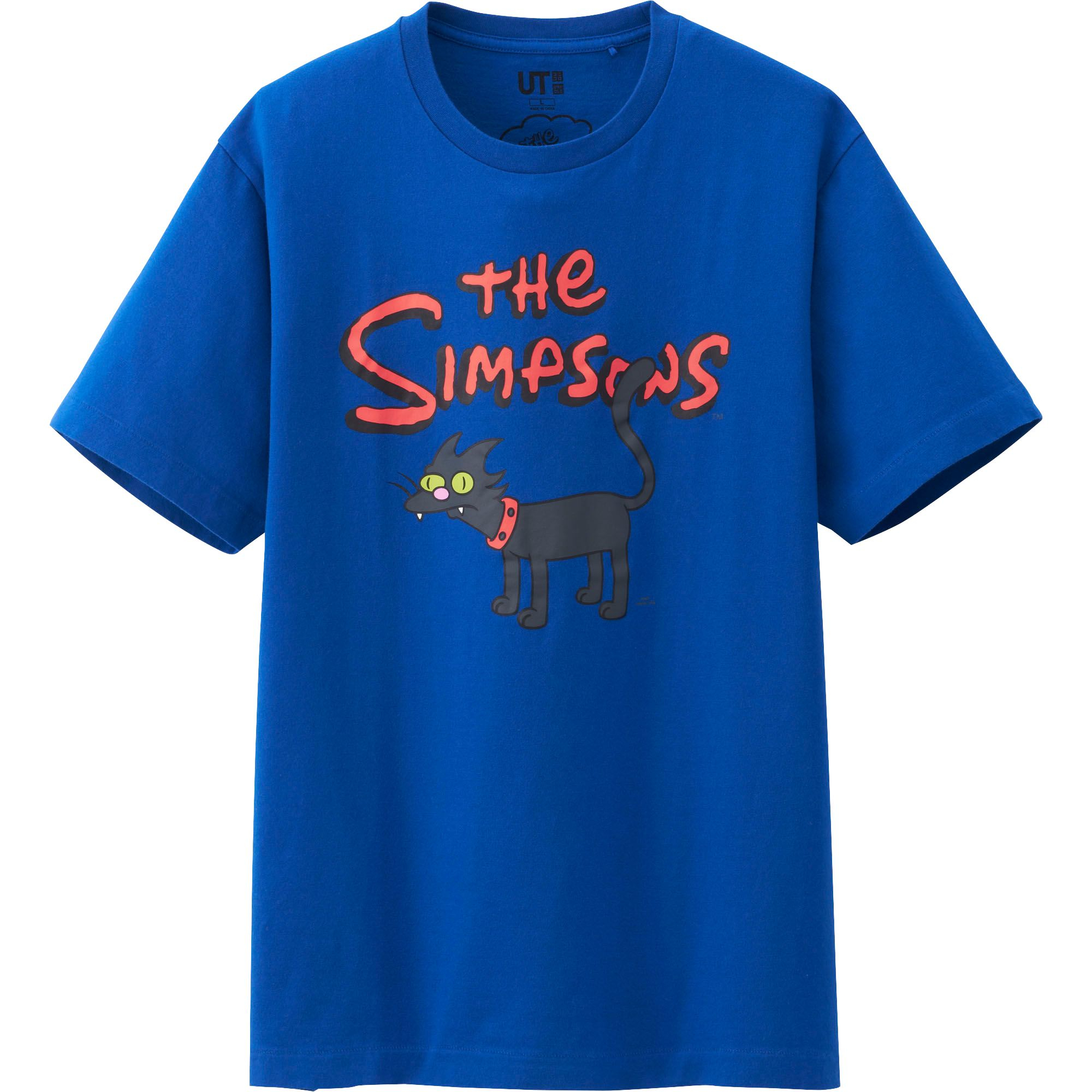 Uniqlo Men The Simpsons Graphic Short Sleeve T Shirt In