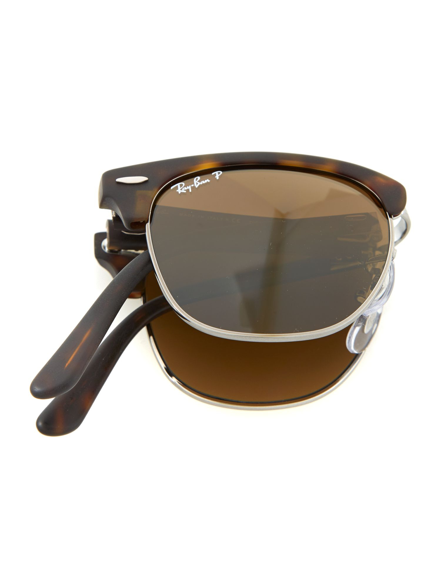 ray ban unisex sunglasses clubmaster  gallery. previously sold at: house of fraser · men's ray ban clubmaster