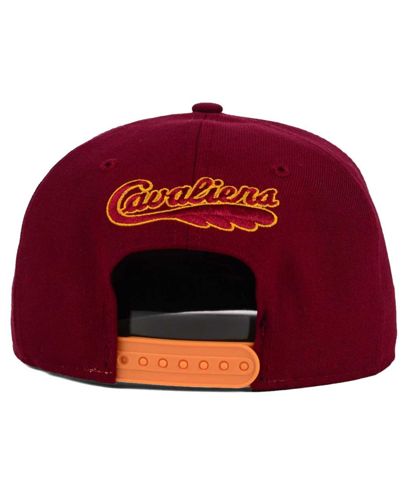 brand new f6fce 0d63a ... coupon for lyst ktz cleveland cavaliers wood viz 9fifty snapback cap in  23567 dc673
