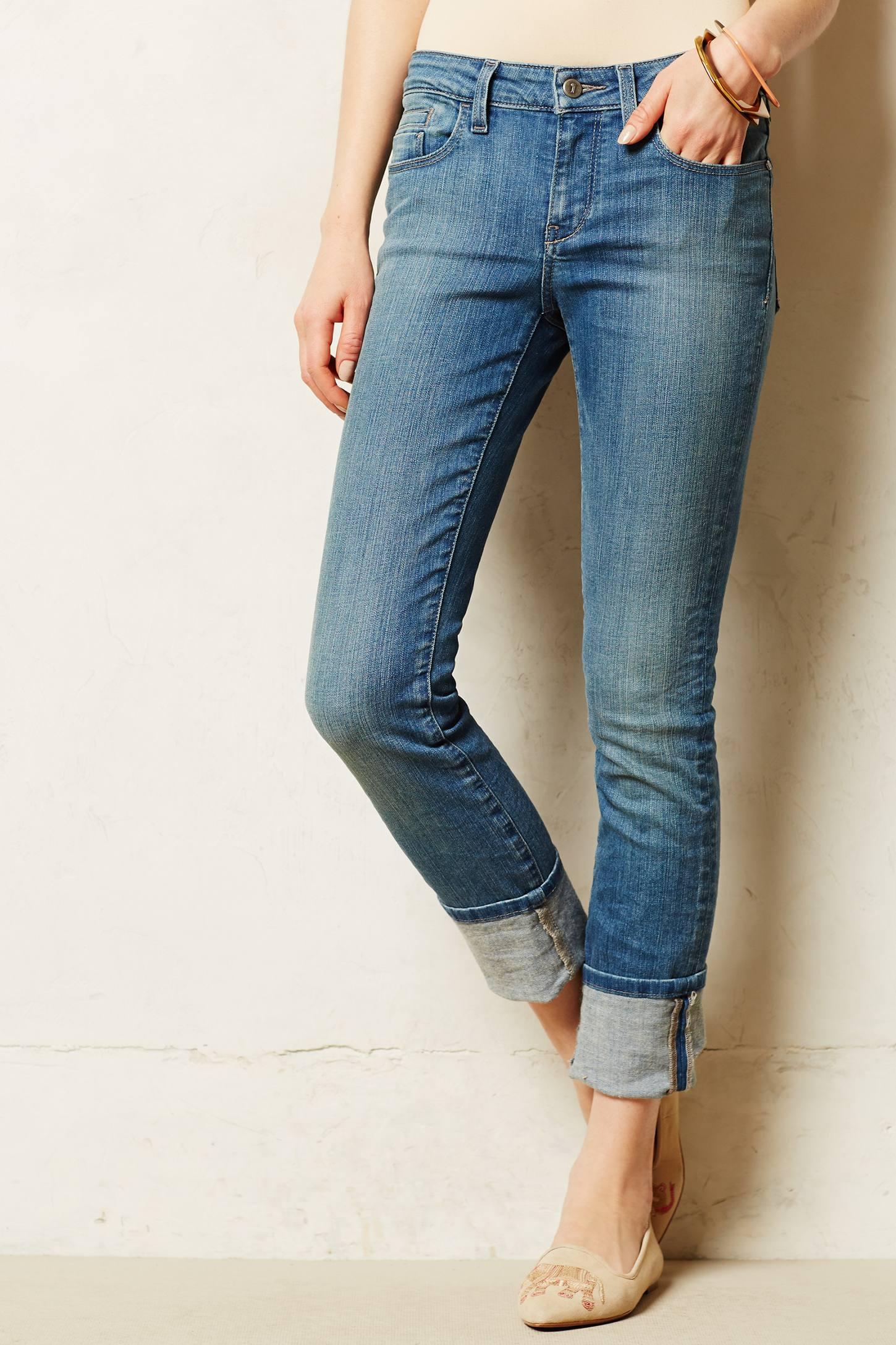 Khaki Skinny Jeans Womens