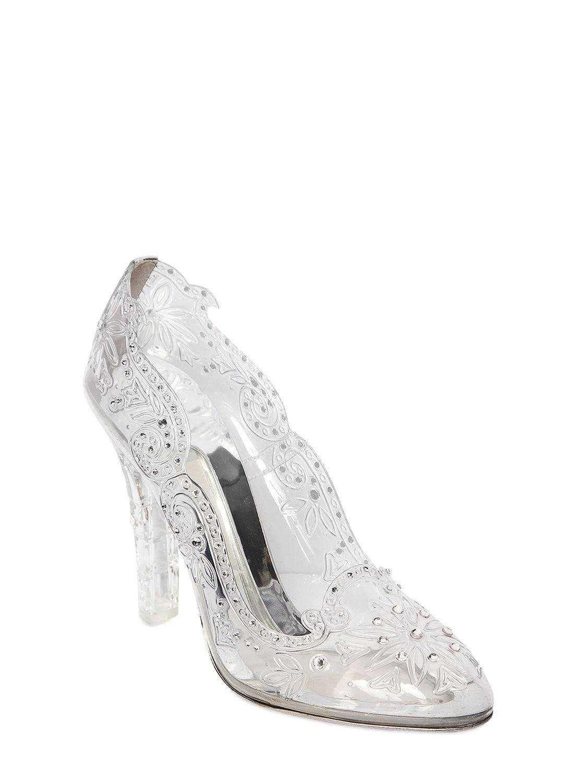e5073ac57c66 Lyst - Dolce   Gabbana 105mm Cinderella Swarovski Pumps