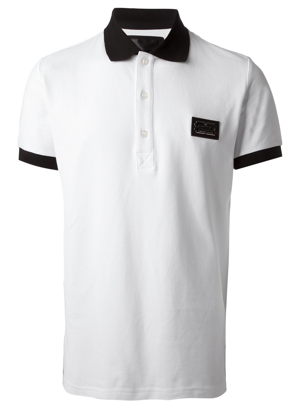 Low Shipping Fee Online logo short-sleeve polo top - Grey Philipp Plein Recommend Discount The Cheapest Cheap Price xeCfMJSij