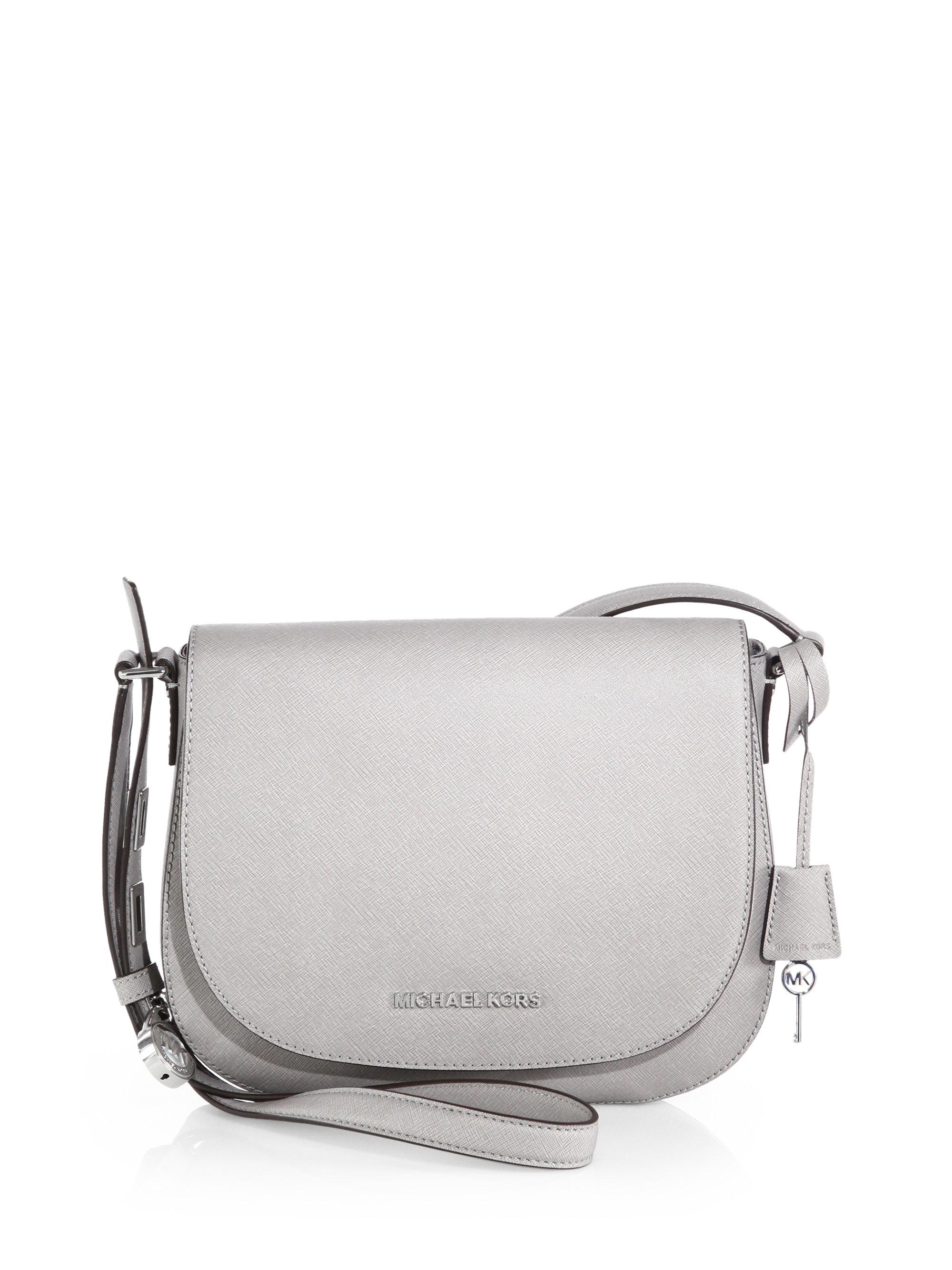 cce5742eff51 MICHAEL Michael Kors Hamilton Large Saffiano Leather Shoulder Bag in ...