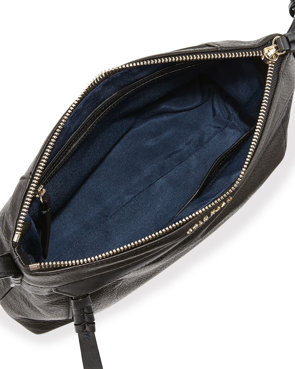 Lyst - Cole Haan Felicity East-west Leather Crossbody Bag in Black