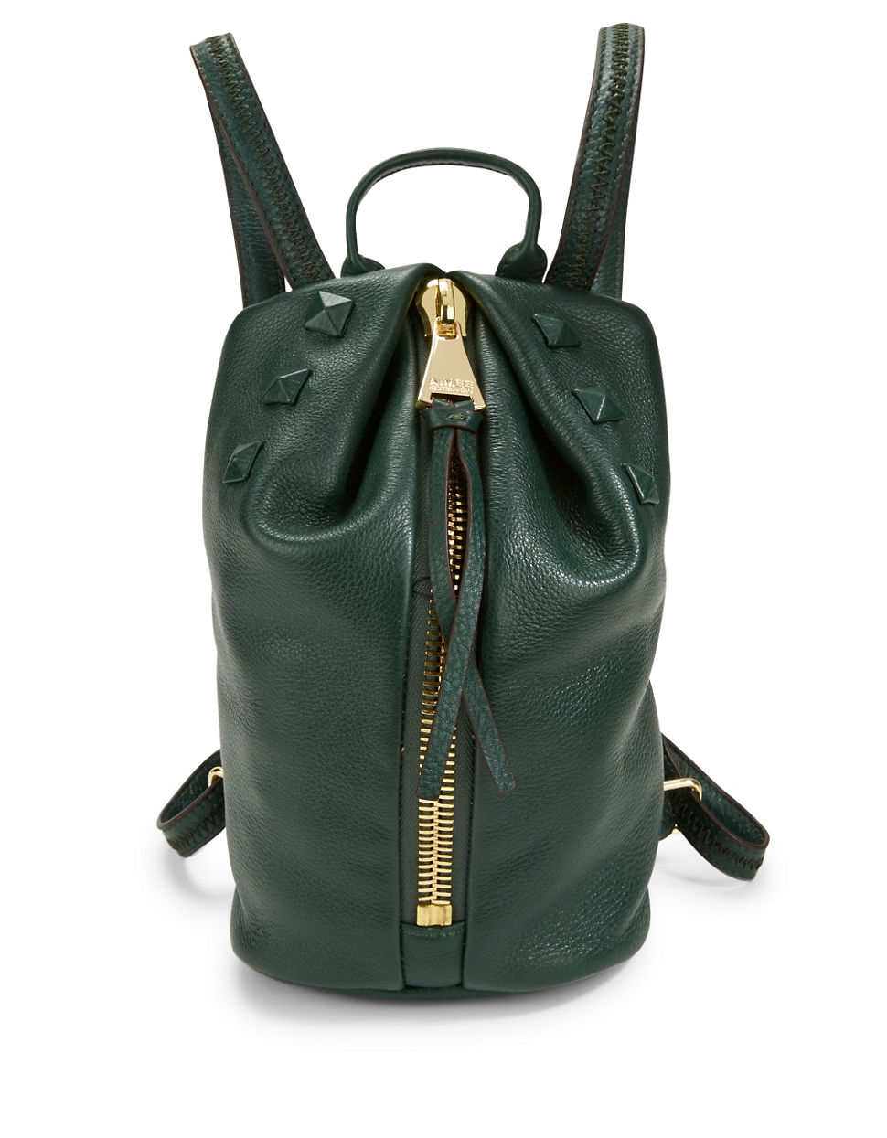Aimee kestenberg Tamitha Studded Leather Backpack in Green | Lyst