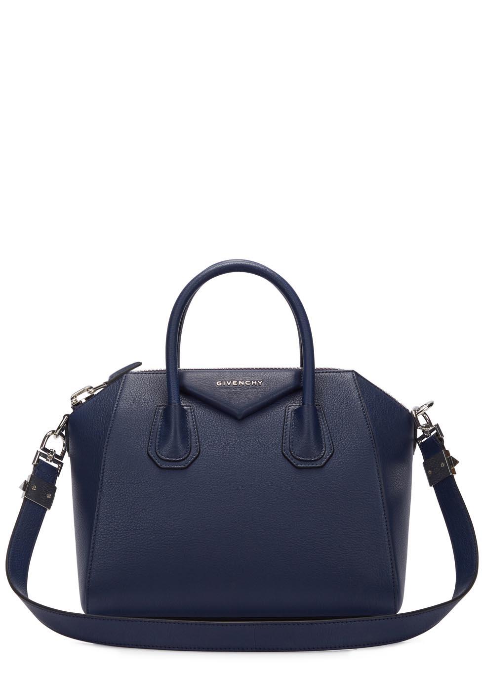 c733186c344b Givenchy antigona small navy leather tote in blue lyst jpg 980x1372 Givenchy  navy antigona