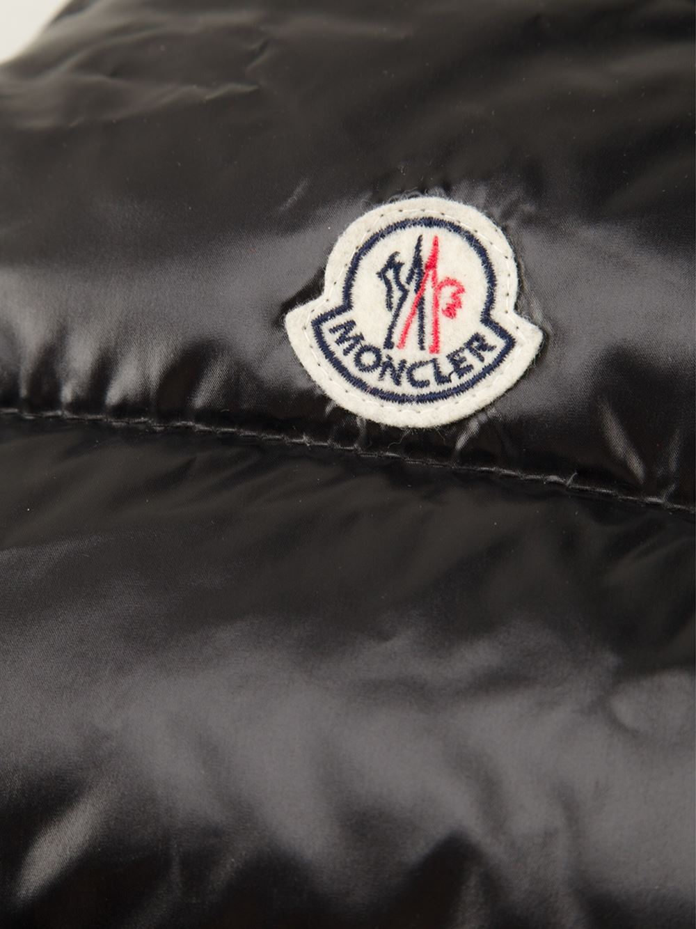 0fcbc4e91 Lyst - Moncler Padded Dog Coat in Black
