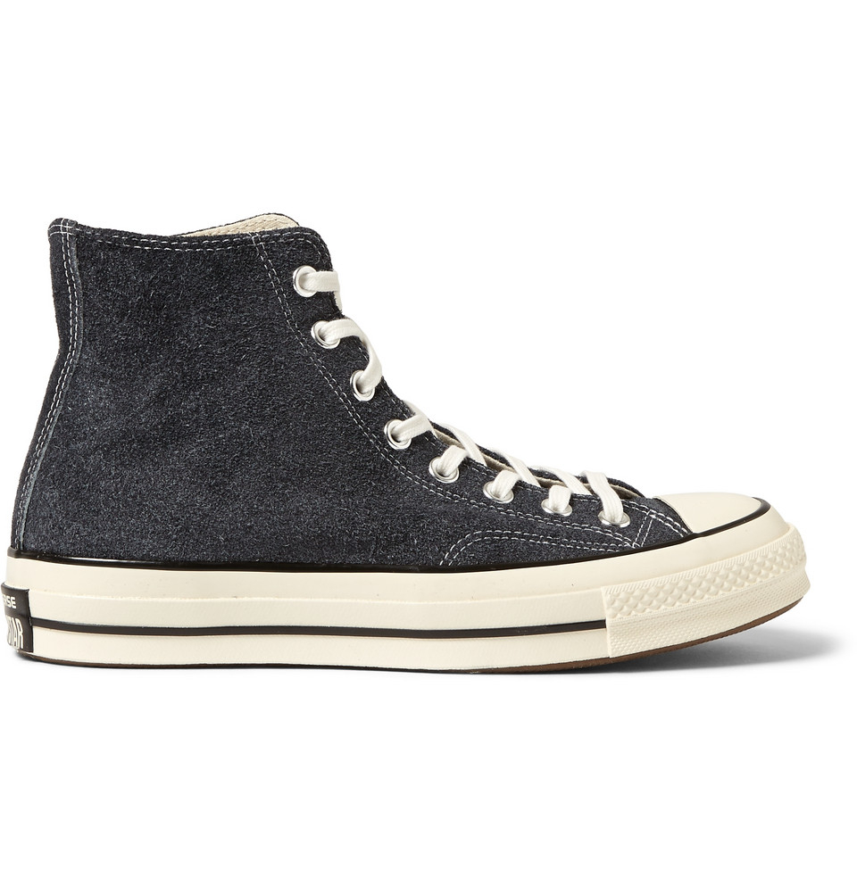 converse 1970s chuck taylor suede hightop sneakers in
