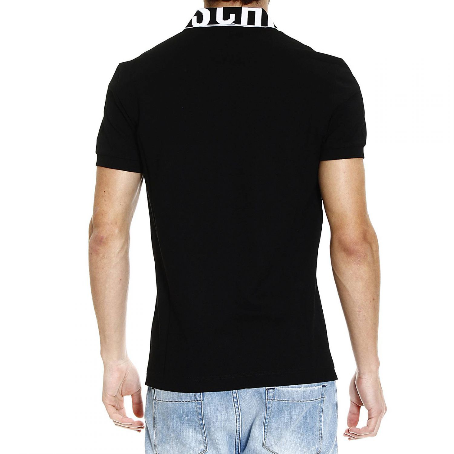 lyst moschino t shirt in black for men. Black Bedroom Furniture Sets. Home Design Ideas