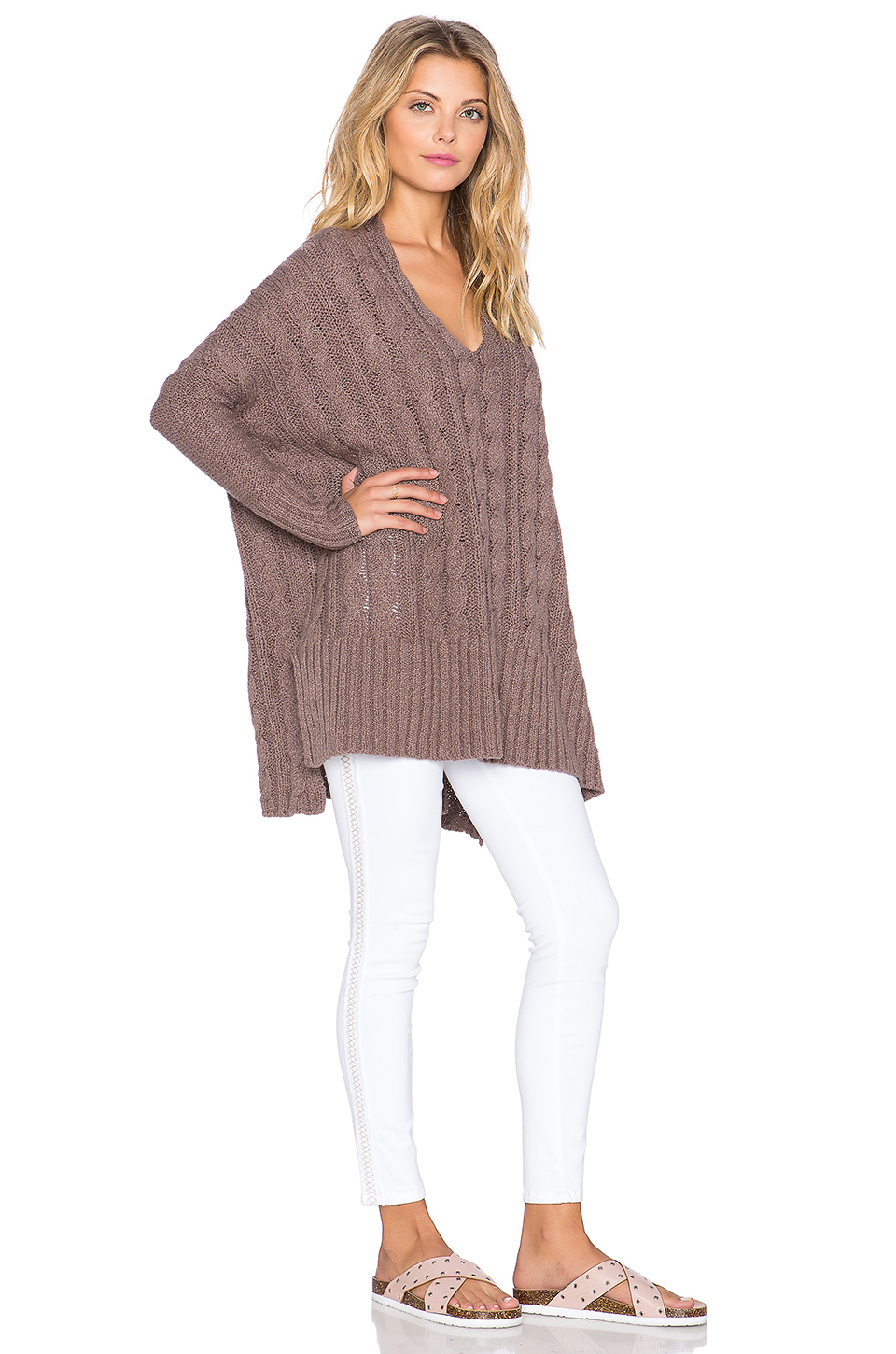 Womens V Neck Sweaters