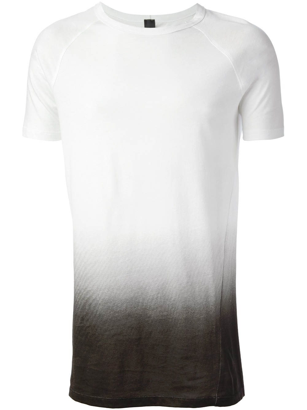 Odeur gradient print tshirt in white for men lyst for T shirt printing and distribution