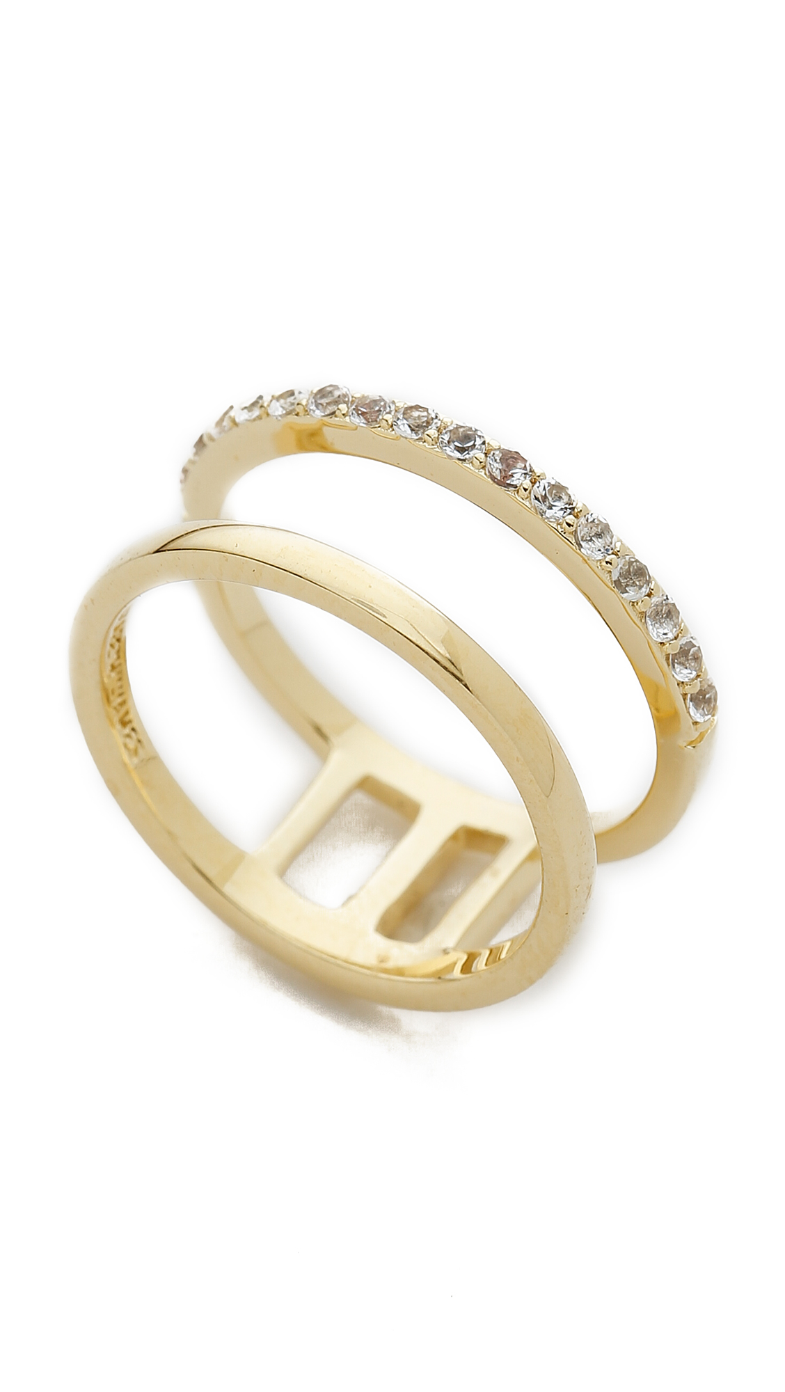 how to clean gold rings