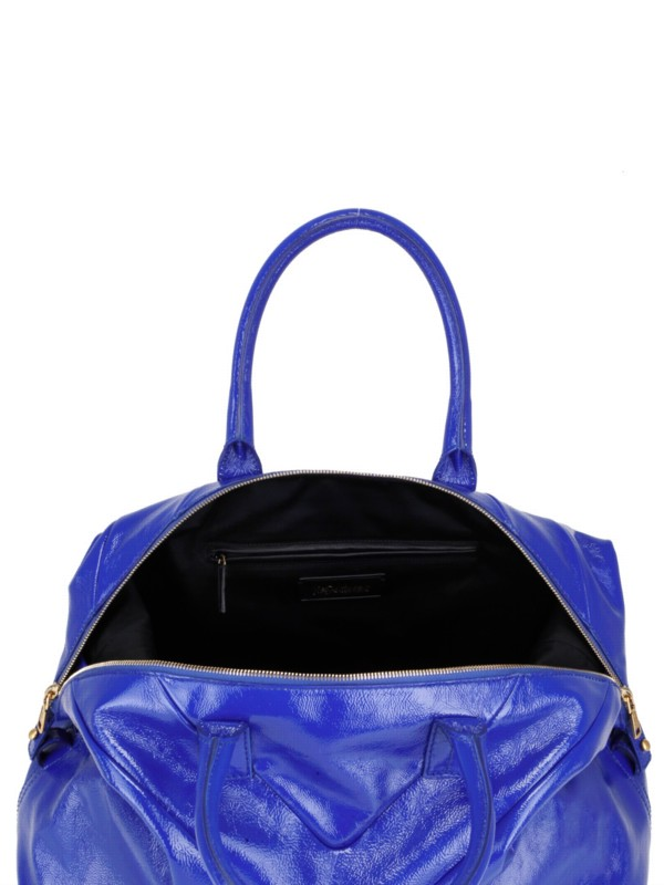 ysl blue patent leather handbag easy