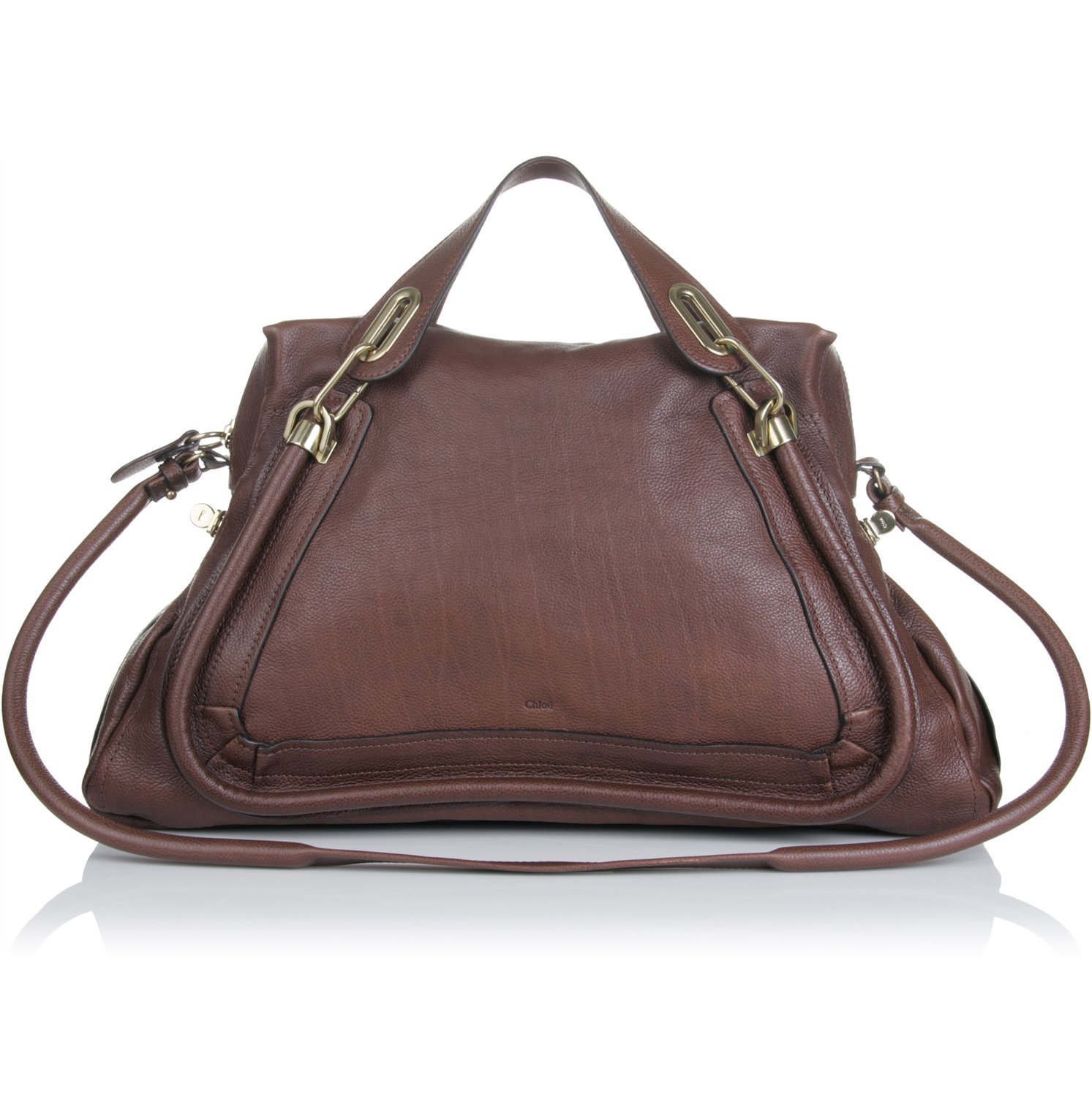 Chlo¨¦ Large Paraty Bag in Brown (chocolate) | Lyst
