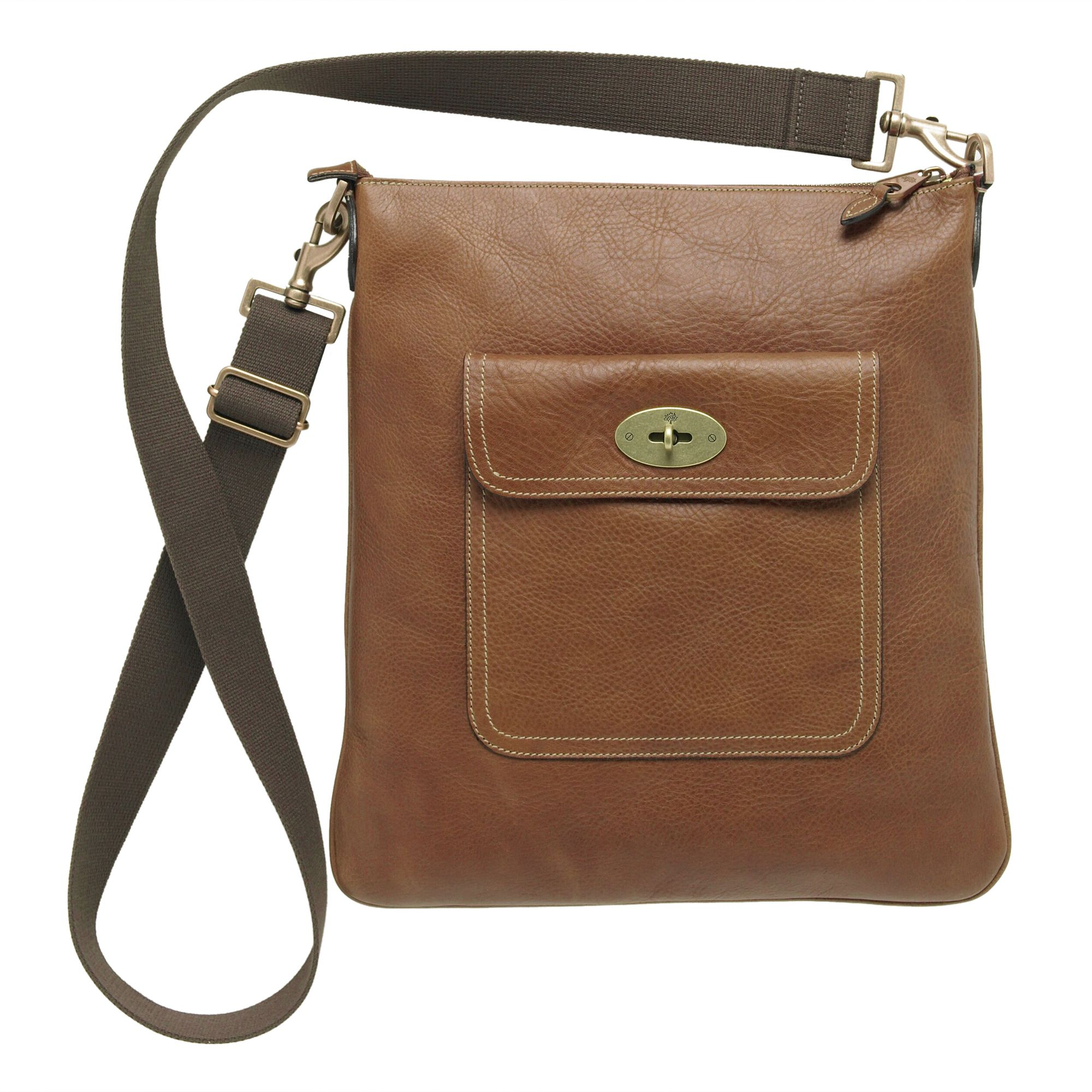 1b29b5e4a3b5 Mulberry Seth Messenger Bag in Brown - Lyst