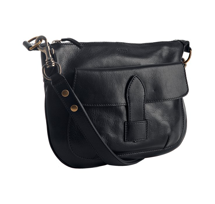 C¨¦line Navy Leather Small Shoulder Bag in Blue (navy)   Lyst
