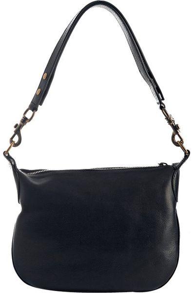 Small Navy Shoulder Bag – Shoulder Travel Bag