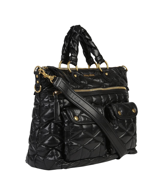 Miu Miu Black Quilted Bag
