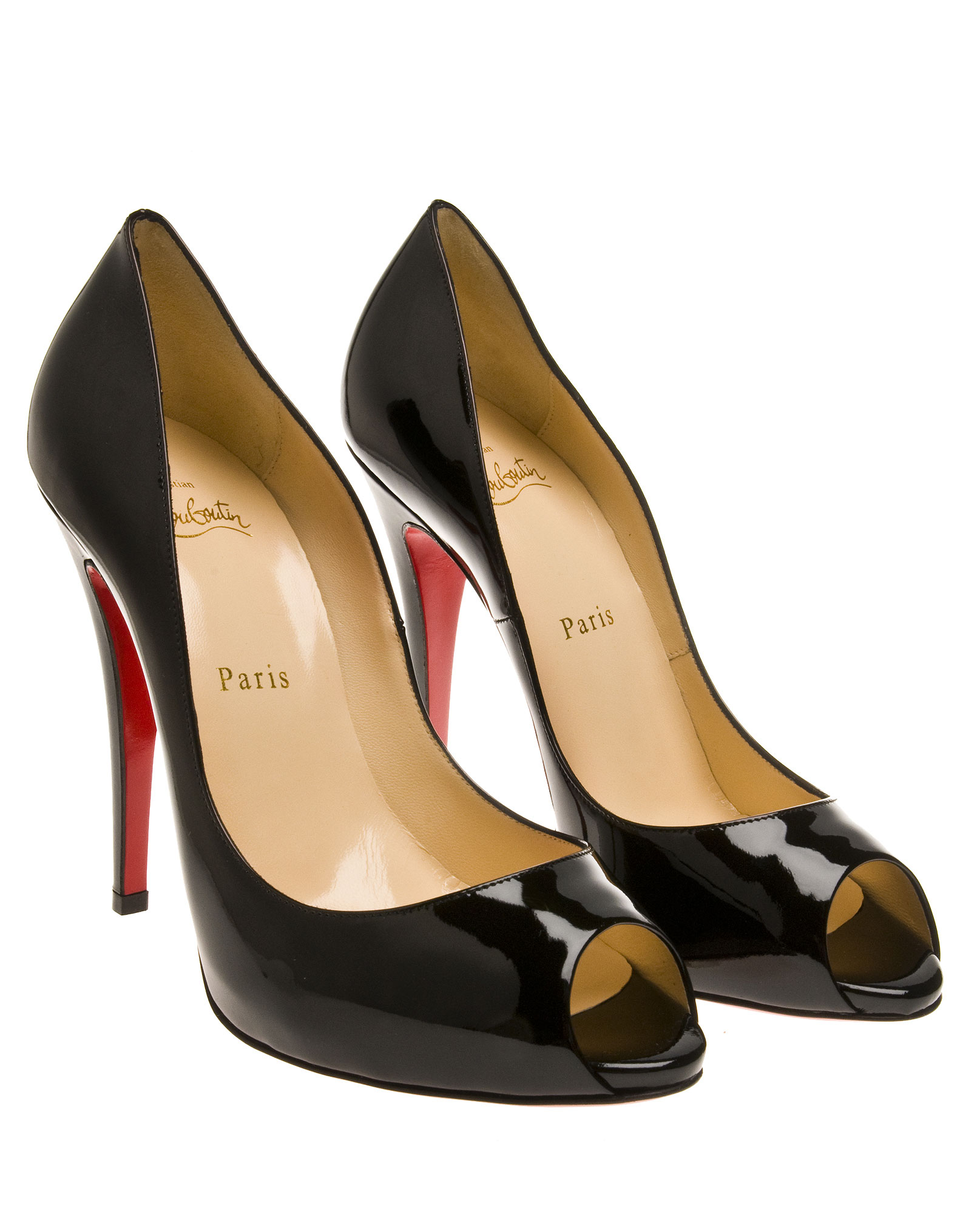Artesur ? christian louboutin Lady Claude pumps Black leather