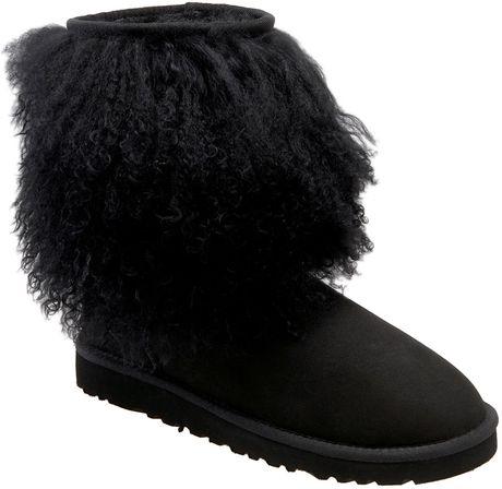 43a5957e7c5 Ugg Australia Adirondack Shearling Cuffed Short Boots | Santa ...