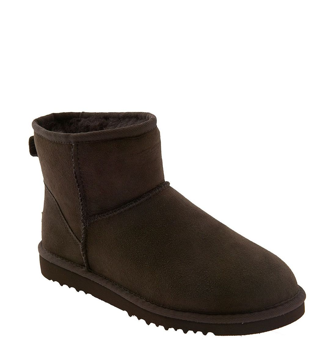 ugg classic mini boot in brown chocolate lyst
