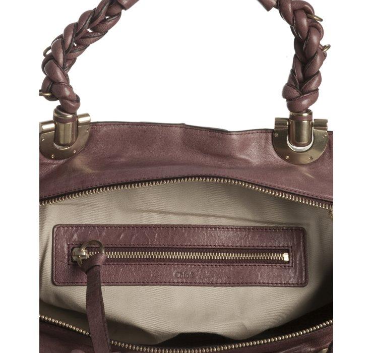 chloe look alike handbags - Chlo�� Black Currant Lambskin Leather Heloise Tote in Black   Lyst