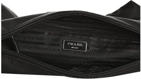 fake prada sunglasses for sale - Prada Black Nylon Banded Shoulder Bag \u2013 Shoulder Travel Bag