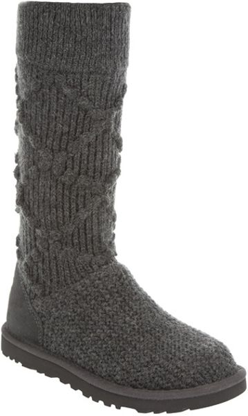 cable knit uggs