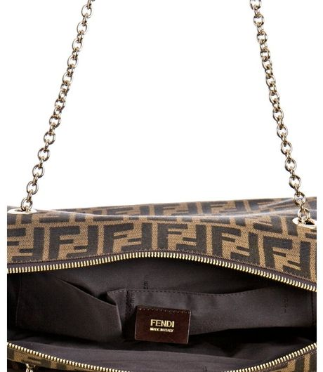 Fendi Zucca Mamma Mia Shoulder Bag 71