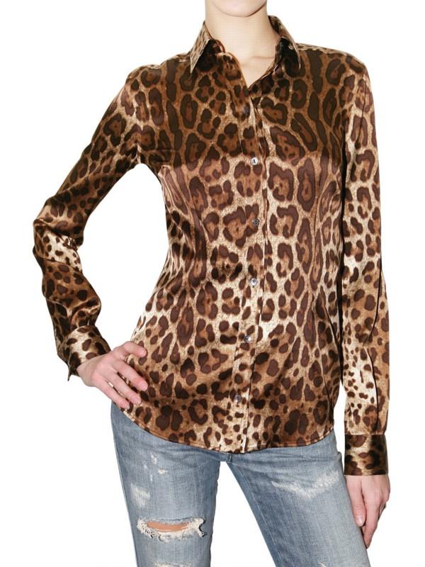 Animal Print Shirts For Women