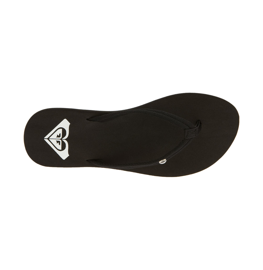 Roxy Patty Flip Flop In Black Lyst
