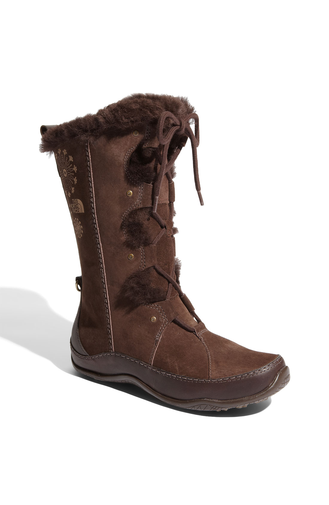 The North Face Abby Iii Boot In Brown Demitasse Brown