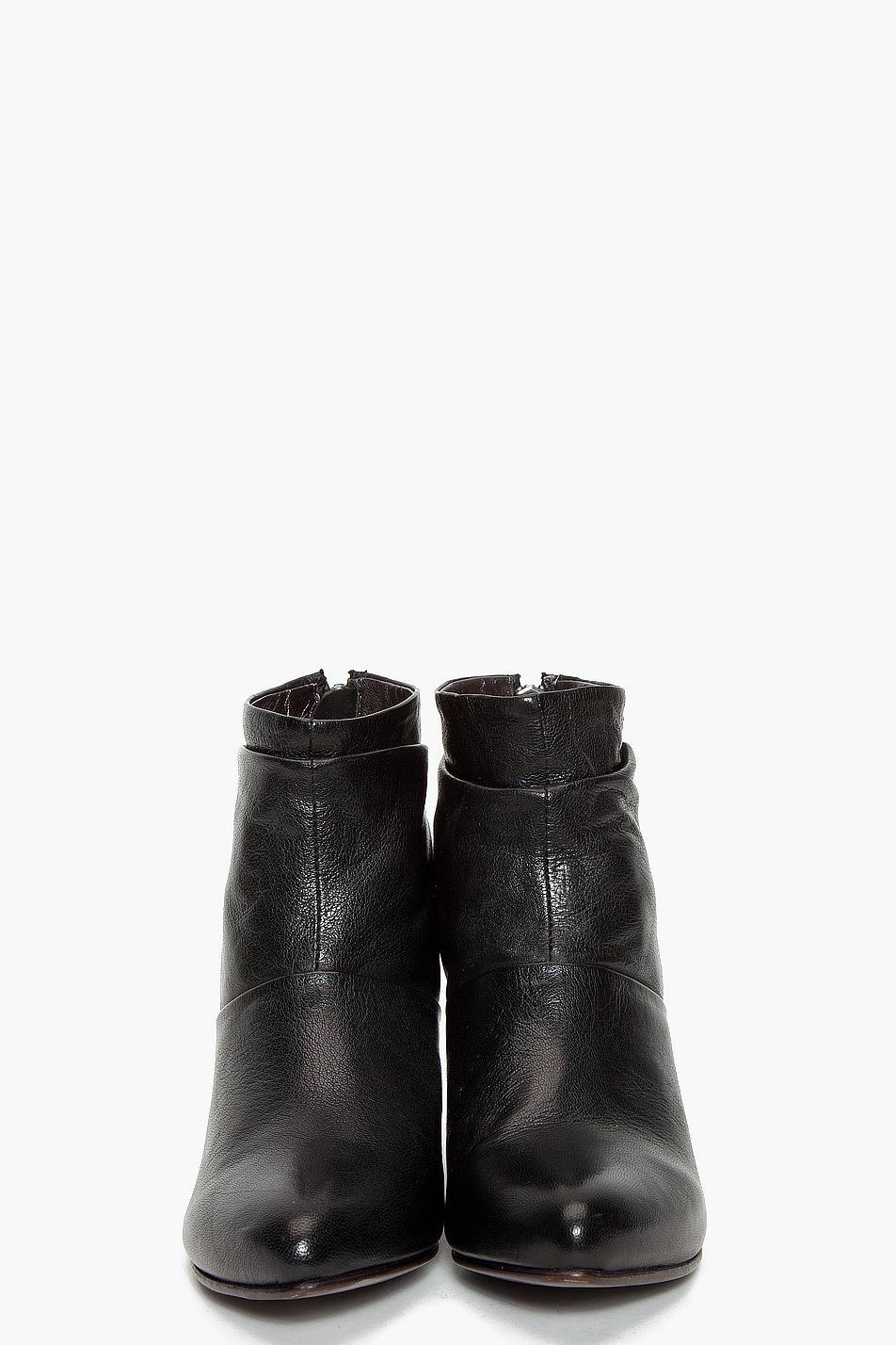 diesel edith wedge boots in black lyst
