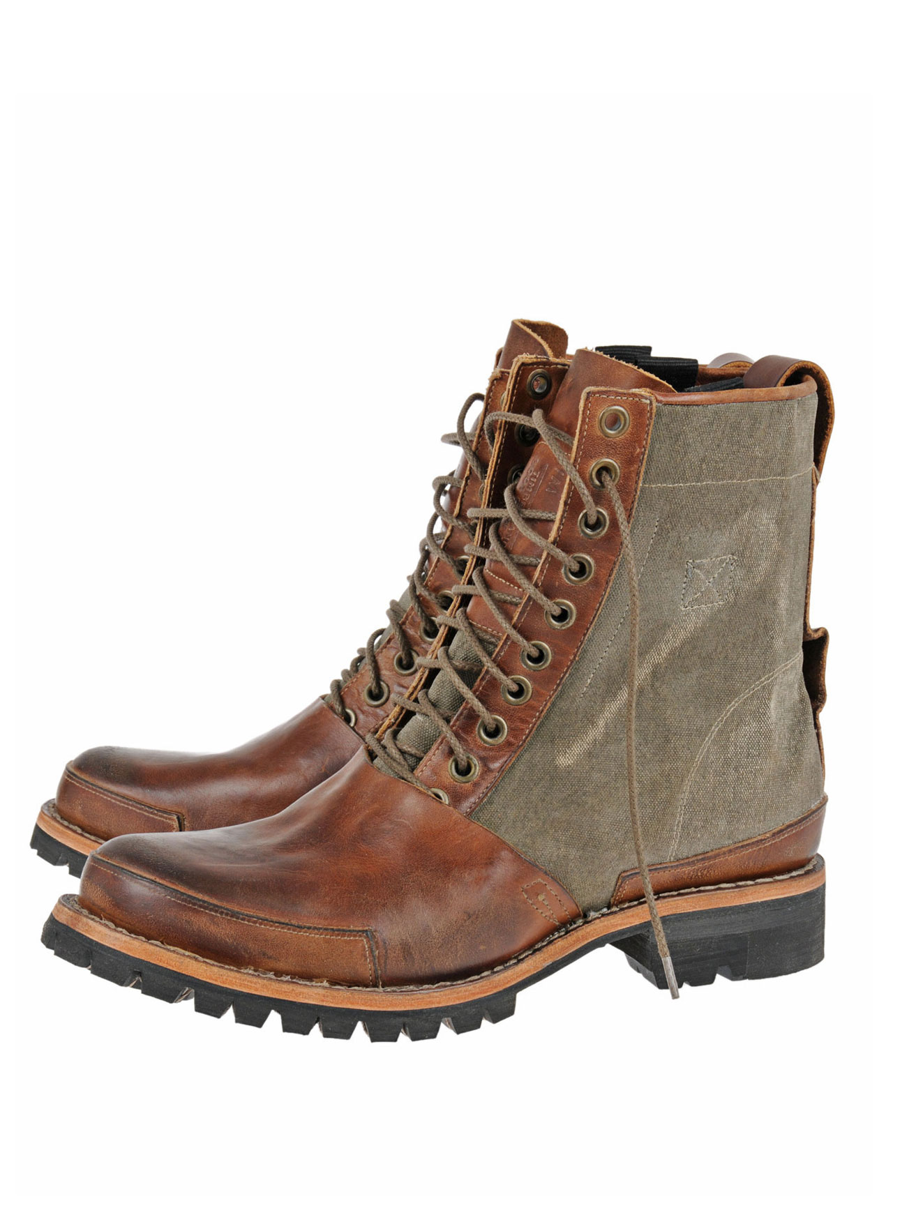 timberland tackhead winter 8 inch boot in brown for lyst
