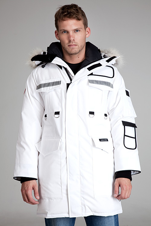 canada goose Vests White