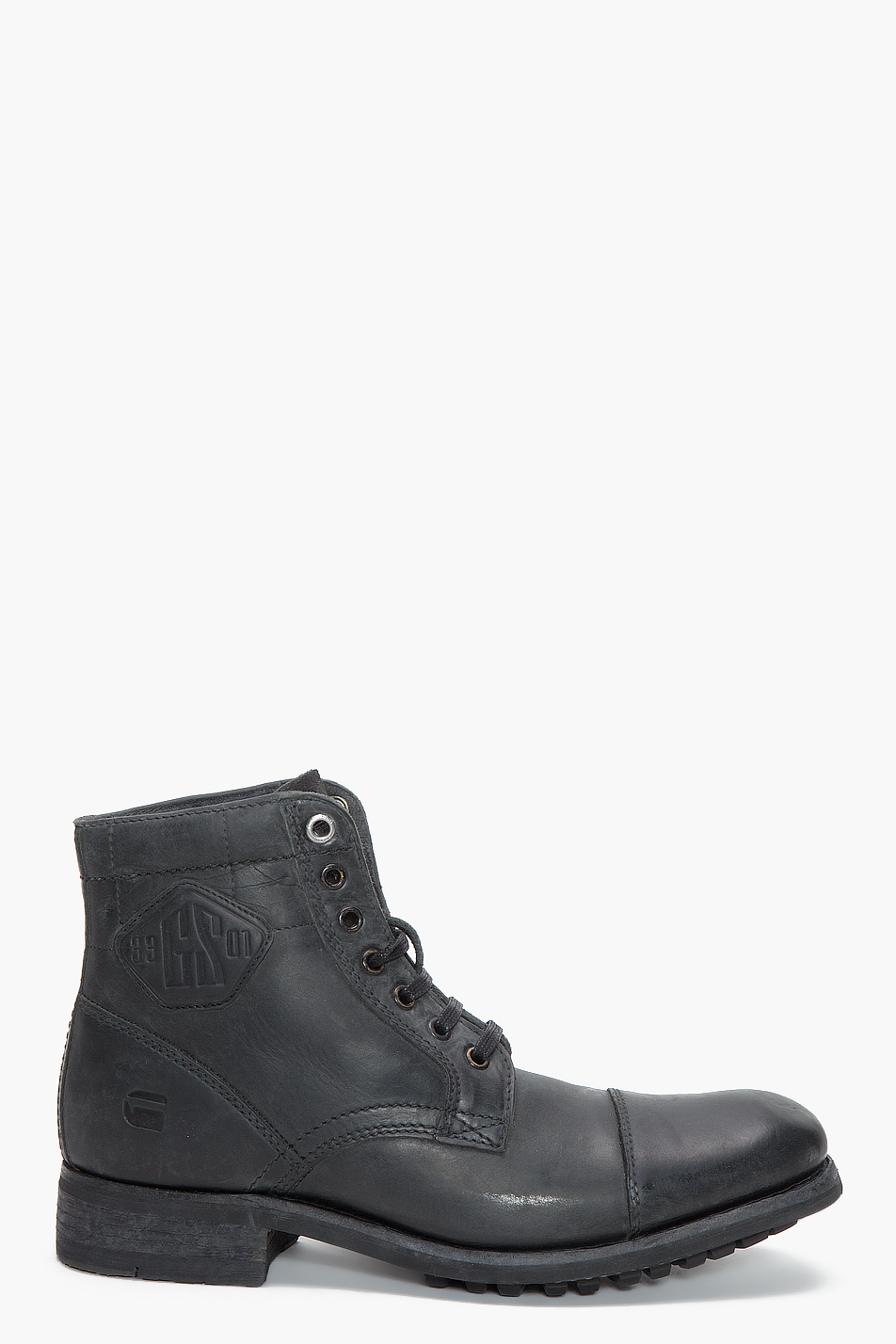 g star raw patton ii charger iii boots in black for men lyst. Black Bedroom Furniture Sets. Home Design Ideas