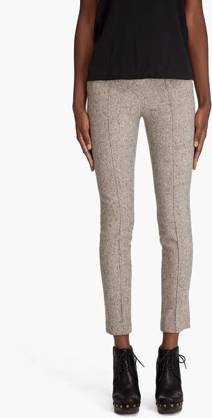 Opening Ceremony Pintuck Pant in Gray (grey) - Lyst