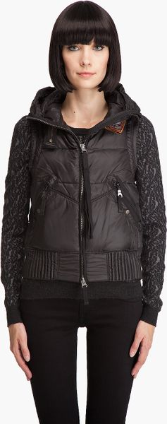 parajumpers damen parajumpers kodiak girl parajumpers right hand masterpiece jacket black. Black Bedroom Furniture Sets. Home Design Ideas