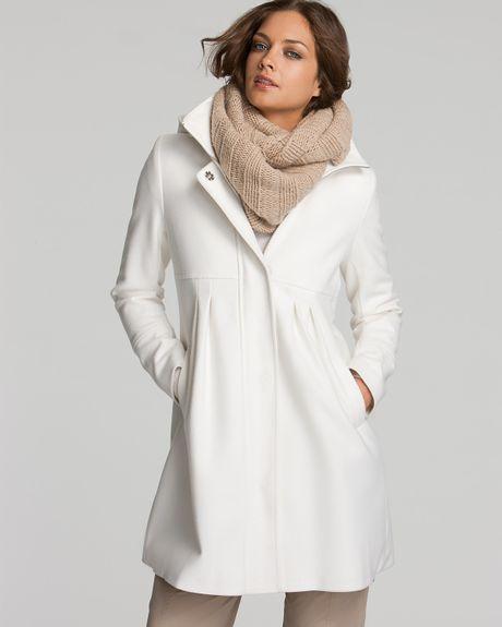 White Coats Coat in White Winter