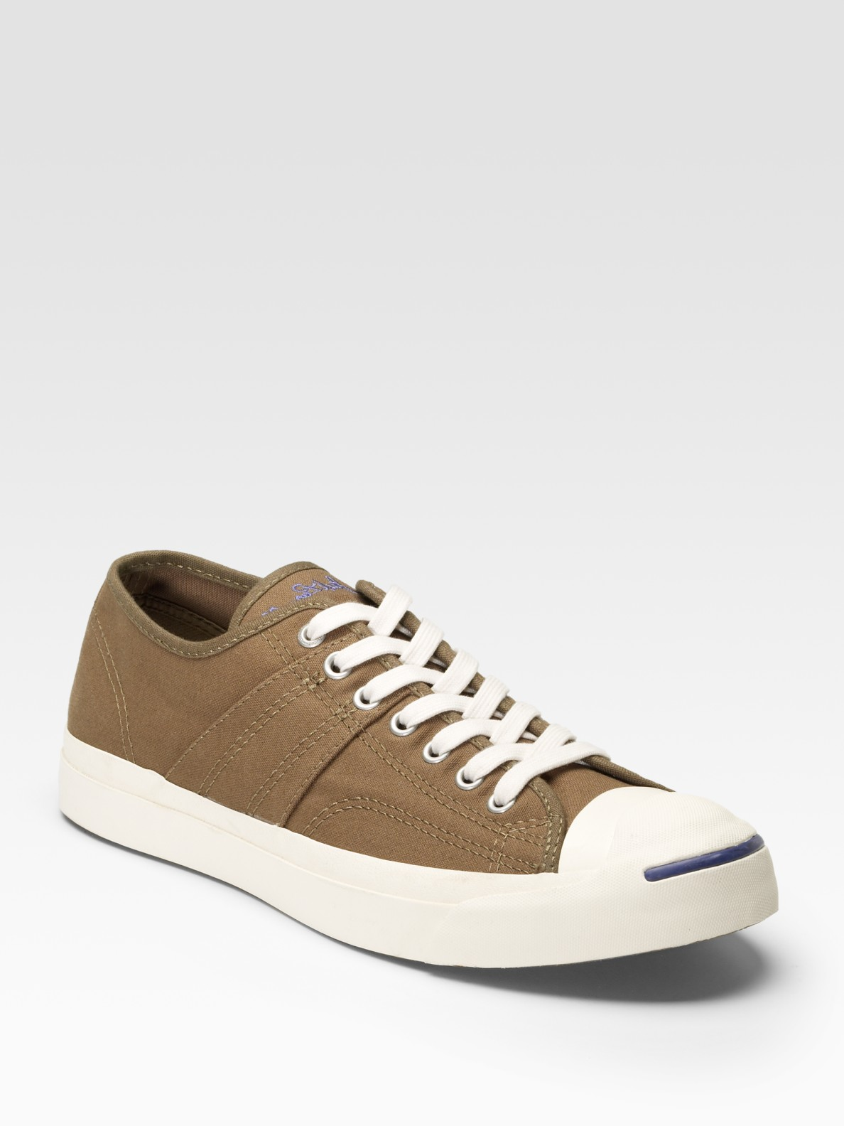 6dafec7335e3 Lyst - Converse Jack Purcell Johnny Low-top Sneakers in Green for Men