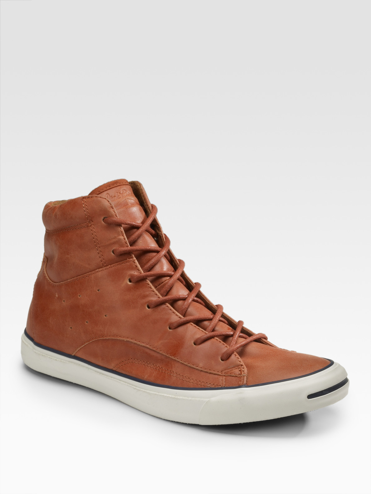 1a24e7ef5a54 Lyst - Converse Jack Purcell Racearound High-tops in Brown for Men