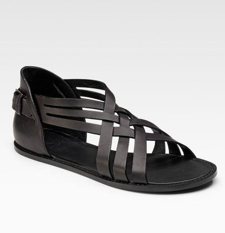 Dior Homme Runway Sandals In Black For Men Lyst