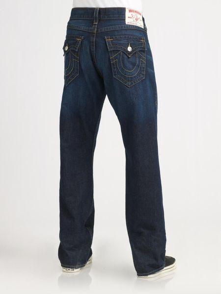 True Religion Point Guard Straight-leg Jeans in Blue for ...