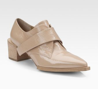 Alexander Wang Ines Patent Leather Loafers - Lyst
