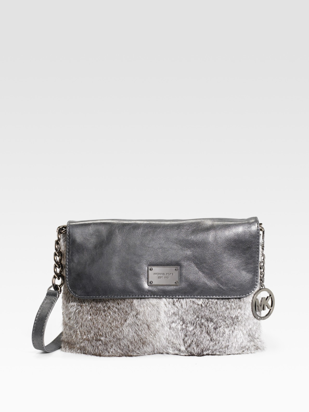 Michael Kors Fur Shoulder Bag 103