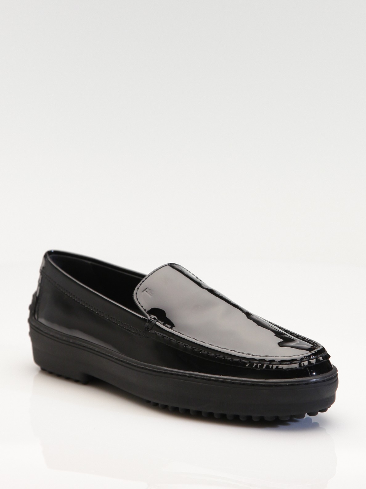 Tod's Varnished Leather Loafers ptOQgor04H