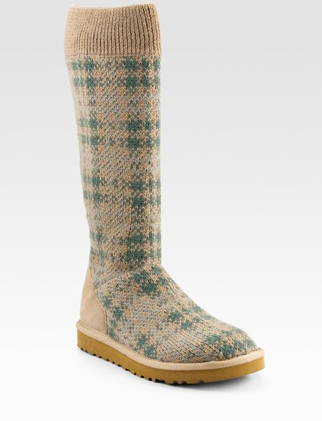 ugg tall knit boots