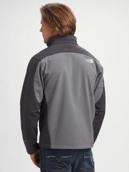 Denmark North Face Mens Bionic Jackets - Clothing The North Face Grey Apex Bionic Jacket Gray